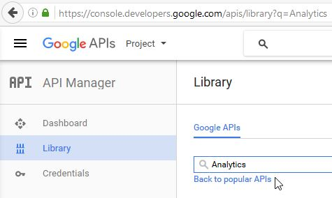 GoogleAPI Manager Library